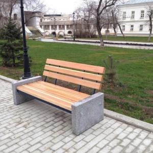 Уличная мебель из камня