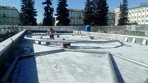 Фонтан городской г. Первоуральск