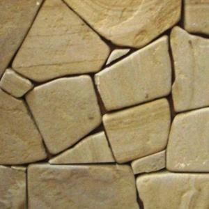 Песчаник галтованный