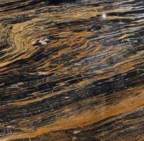 Мрамор черный PICASSO GOLD