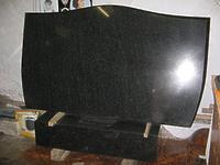 Стела Габбро (гранит) горизонтальный